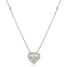 Movable Round Diamond Designer Necklace