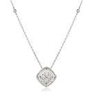 Image for Movable Round Diamond Designer Necklace