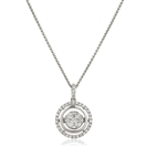 Image for Movable Round Diamond Designer Pendant