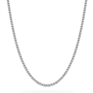 Image for Elegant Round Diamond Tennis Necklace