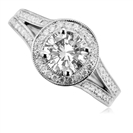 1.50CT SI2/E Round Diamond Ring