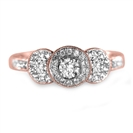 Image for Lavish Round Diamond Vintage Ring