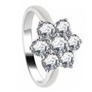 3.00ct Elegant Round Diamond Cluster Ring