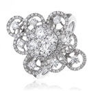Image for 1.35CT Elegant Round Diamond Dress Ring