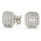 Image for 0.75CT Classic Diamond Cluster Earrings