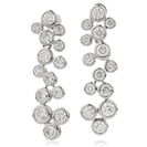 Image for 5.00CT Modern Round Diamond Drop Earrings