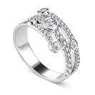 Image for 0.90CT Round Diamond Dress Ring