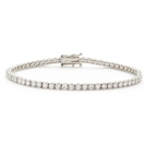 4.00CT Classic Single Row Diamond Tennis Bracelet
