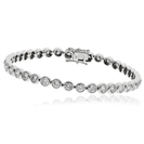 6.00ct Classic Single Row Diamond Tennis Bracelet