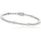5.20ct Classic Single Row Diamond Tennis Bracelet