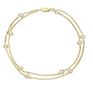 Image for 0.25CT Classic Round Diamond Chain Bracelet