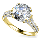 Image for Modern Round Diamond Vintage Ring