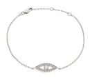 0.35CT Classic Round Diamond Chain Bracelet