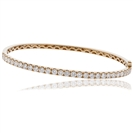 Image for 0.90CT Elegant Round Diamond Set Bangle