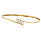 Image for 0.30CT Elegant Round Diamond Set Bangle