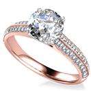 Image for Classic Round Diamond Vintage Ring