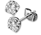 Image for 0.80ct Classic Round Diamond Earrings