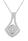 0.25CT VS/EF Round Diamond Designer Pendant