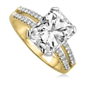 Image for Radiant & Round Diamond Engagement Ring