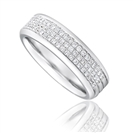 Image for 1/2 Set 5.5mm Gents Diamond Wedding Ring