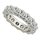 Image for 4.00CT Elegant Round Diamond Full Eternity Ring