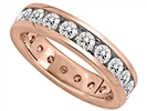 Image for 3.00CT Round Diamond Full Eternity Ring