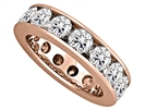 Image for 5.00CT Round Diamond Full Eternity Ring