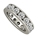 5.00CT Round Diamond Full Eternity Ring
