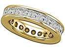 Image for 4.00CT Princess Diamond Full Eternity Ring