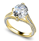 Image for Round Diamond Designer Vintage Ring