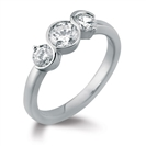 Significant Round Diamond Trilogy Ring