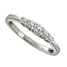 Image for 0.25CT VS/EF Elegant Round Diamond Eternity Ring