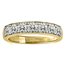 Image for 1.00CT VS/EF Elegant Round Diamond Eternity Ring
