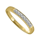 Image for 0.15CT VS/EF Elegant Round Diamond Eternity Ring