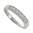 0.33CT VS/EF Round Diamond Eternity Ring