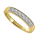 Image for 0.35CT VS/EF Elegant Round Diamond Eternity Ring