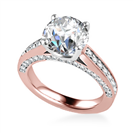 Image for Unique Round Diamond Engagement Ring