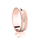 Image for 5mm Two Tone Wedding Ring