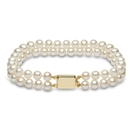 Image for 6mm Freshwater Pearl Double Row Bracelet