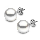 Image for 9mm Freshwater Pearl Stud Earrings