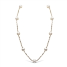 Image for 8mm Freshwater Pearl Chain Necklace