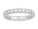 Image for 1.25ct Elegant Round Diamond Full Eternity Ring