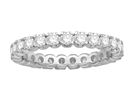 1.25ct Elegant Round Diamond Full Eternity Ring