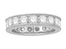 3.00ct Elegant Round Diamond Full Eternity Ring