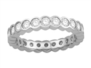 1.50ct Elegant Round Diamond Full Eternity Ring