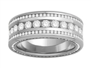 3.00CT VS/EF Round Diamond Dress Ring