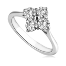 Image for 4 Stone Round Diamond Ring