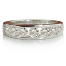 Image for Round Diamond Half Eternity Ring