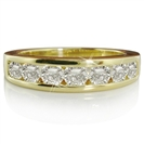 1.00CT VVS1/D Round Diamond Eternity Ring