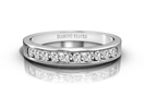 Image for Classic Round Diamond Eternity Ring